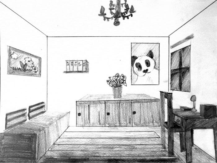 dessin enfants3 chambre - Dessin De Chambre