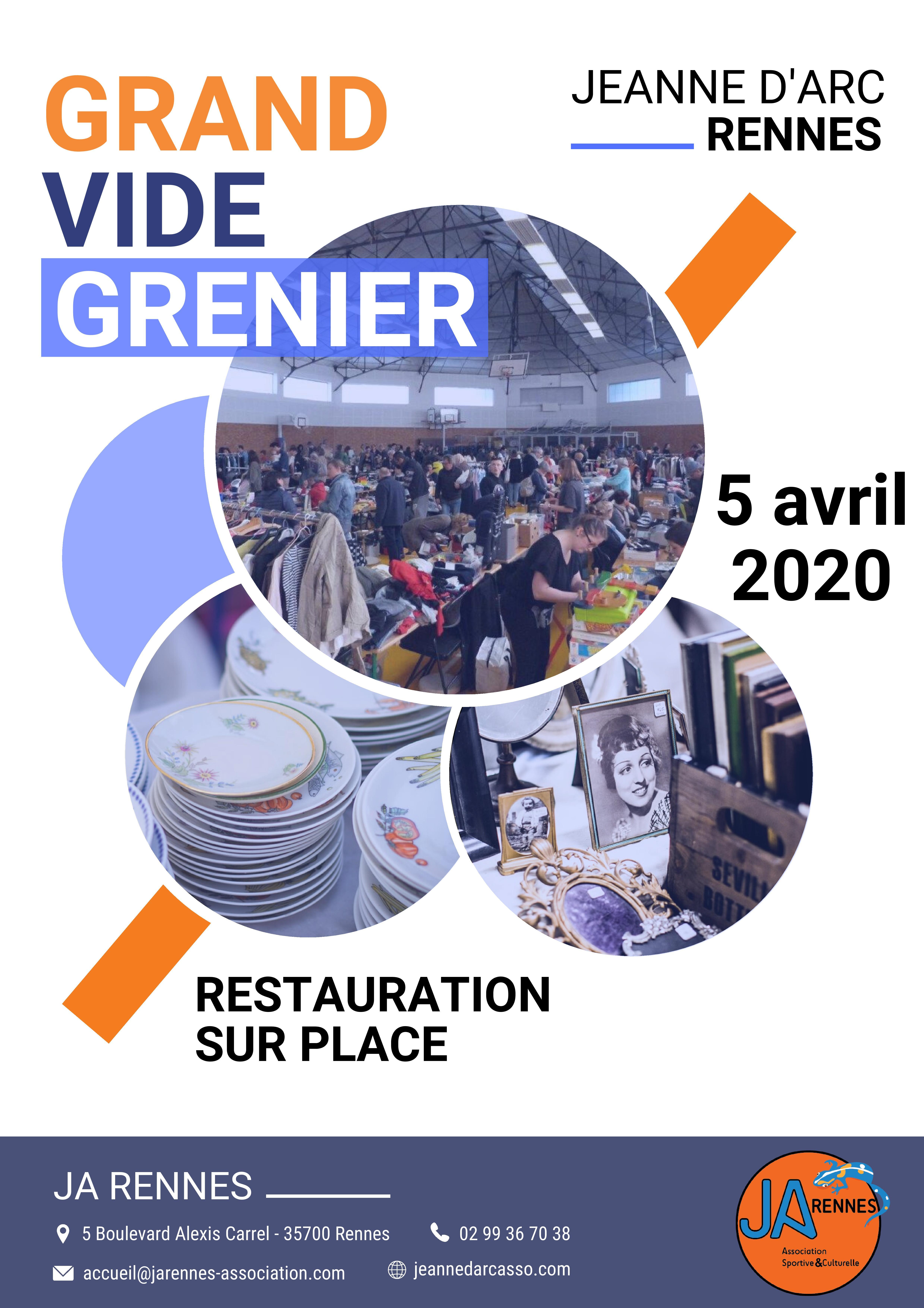 VIDE GRENIER 2020