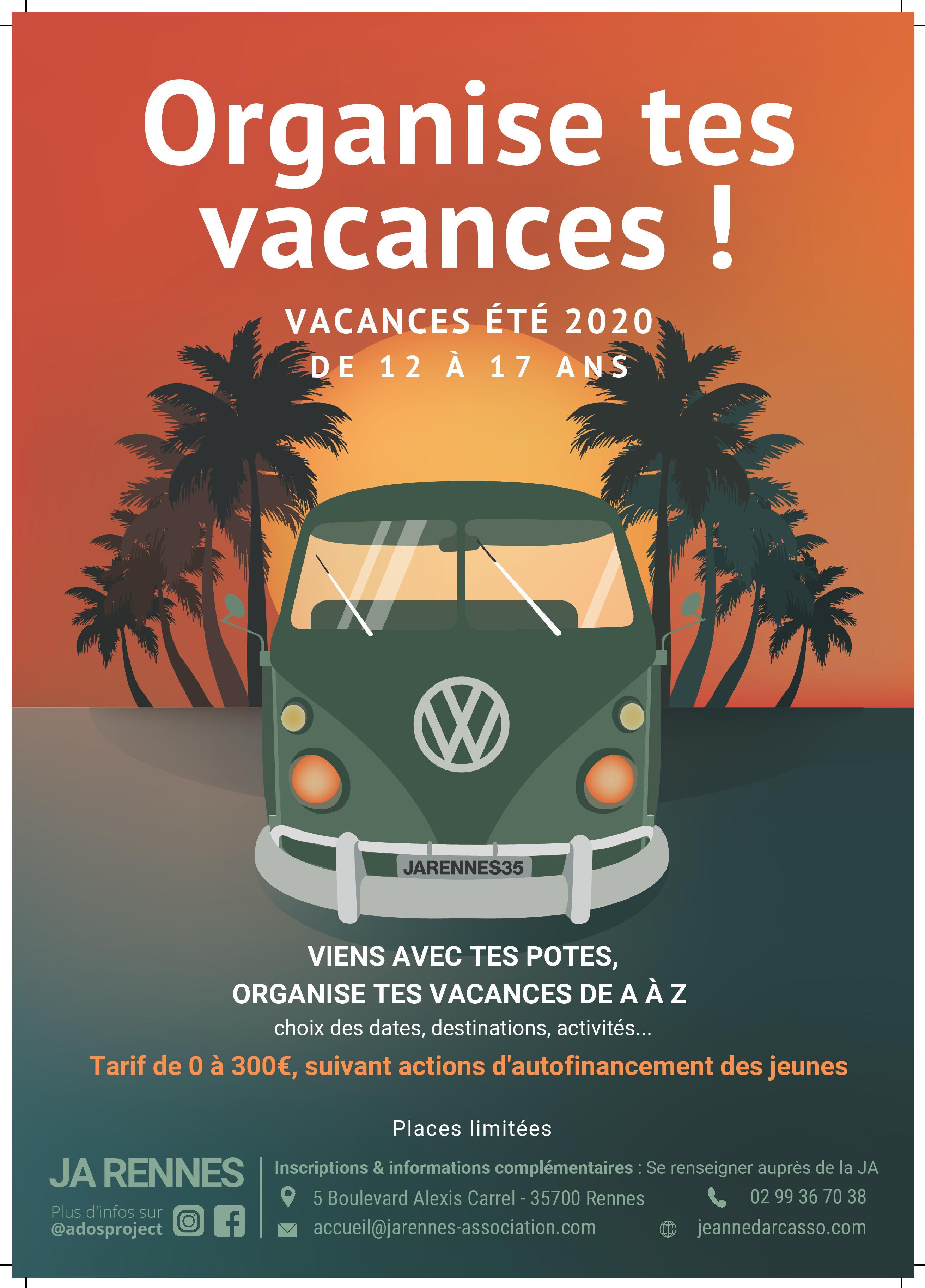 Organise Tes Vacances 2020